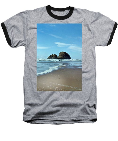 Oregon Coast 8 Baseball T-Shirt