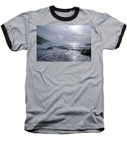 Oregon Coast Baseball T-Shirt by Billie-Jo Miller