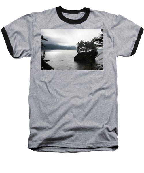 Oregon Coast Fog Baseball T-Shirt