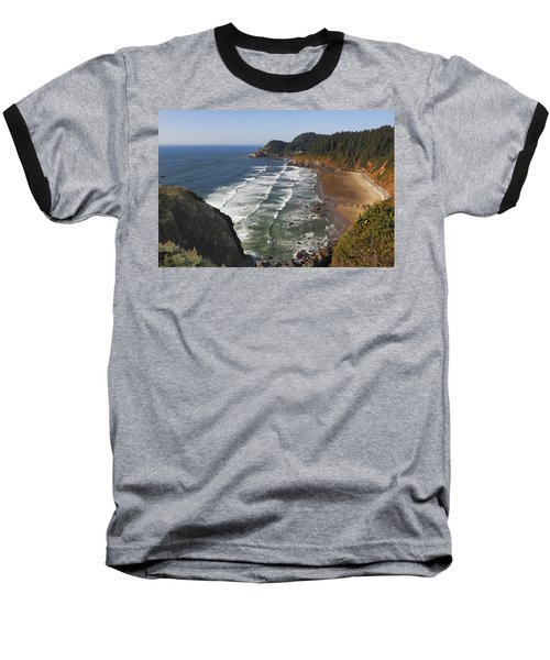 Oregon Coast No 1 Baseball T-Shirt