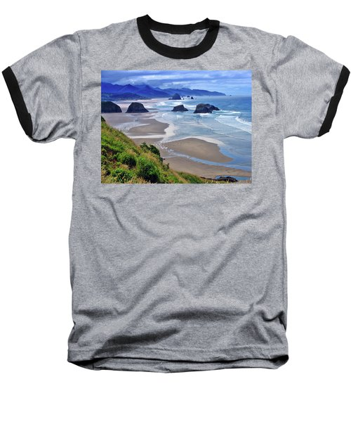 Oregon Coast Baseball T-Shirt by Scott Mahon