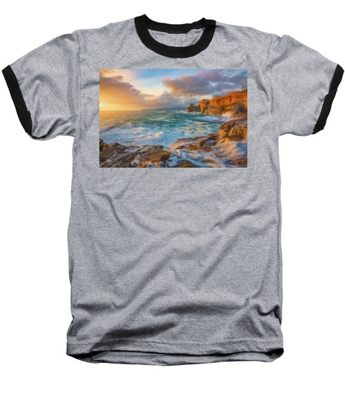 Baseball T-Shirt featuring the photograph Oregon Coast Wonder by Darren White