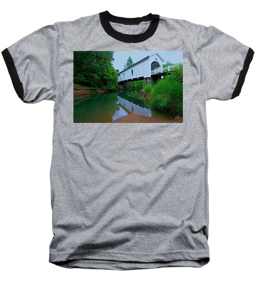 Oregon Covered Bridge Baseball T-Shirt