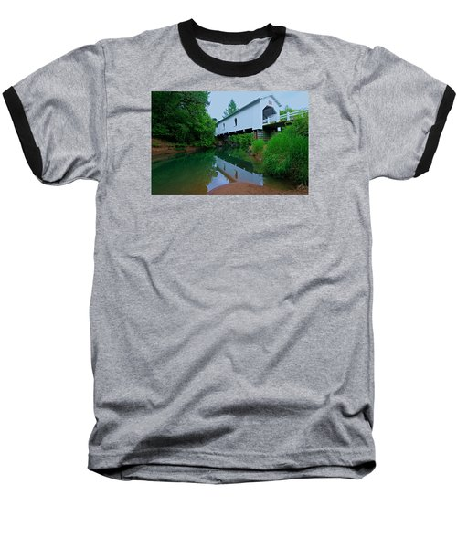 Oregon Covered Bridge Baseball T-Shirt