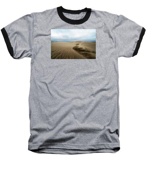 Oregon Dune Wasteland 1 Baseball T-Shirt by Ryan Manuel