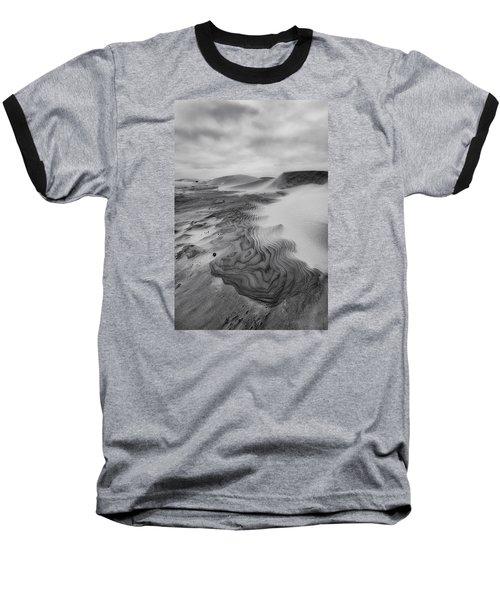 Oregon Dune Wasteland 2 Baseball T-Shirt by Ryan Manuel