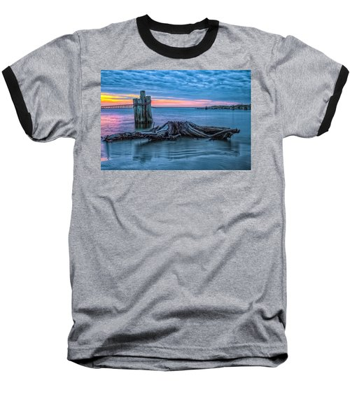 Oregon Inlet II Baseball T-Shirt