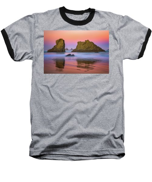 Baseball T-Shirt featuring the photograph Oregon's New Day by Darren White