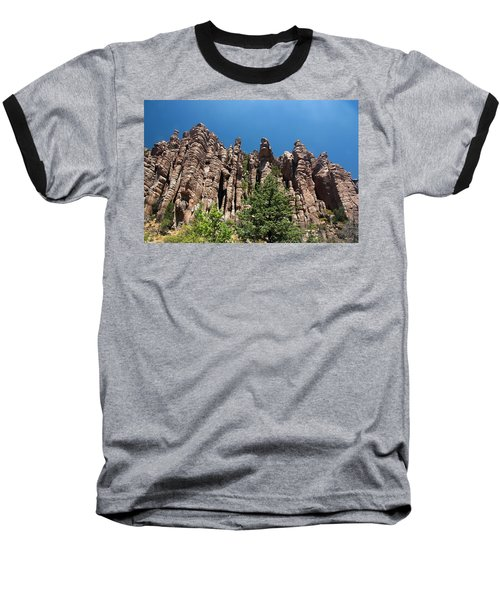 Baseball T-Shirt featuring the photograph Organ Pipes by Joe Kozlowski