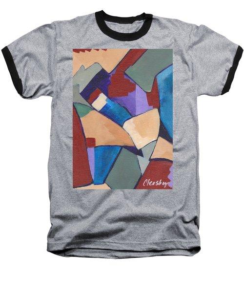 Organic Abstract Series II Baseball T-Shirt