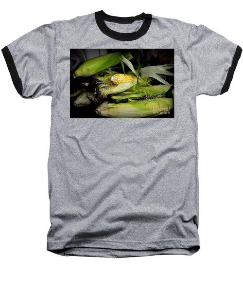 Organic Corn Baseball T-Shirt