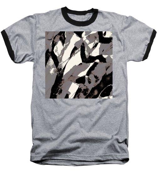 Organic No 2 Abstract Baseball T-Shirt