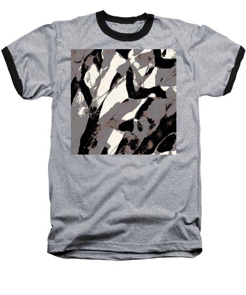 Organic No 2 Abstract Baseball T-Shirt