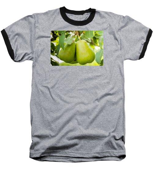 Organic Pears Baseball T-Shirt