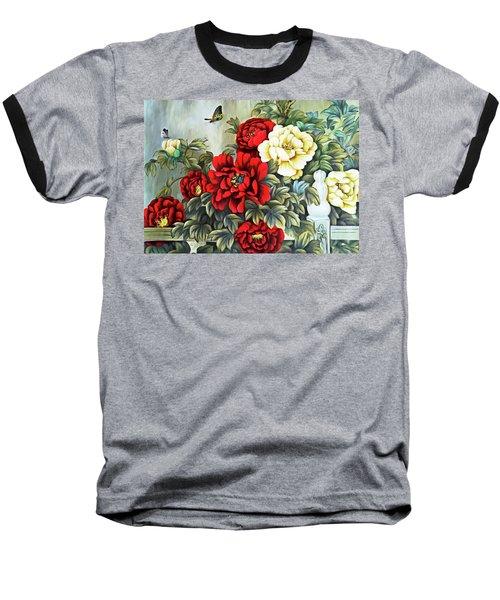 Baseball T-Shirt featuring the photograph Oriental Flowers by Munir Alawi