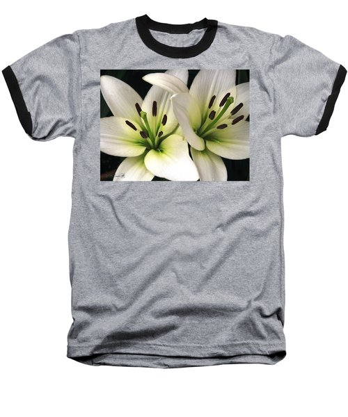 Oriental Lily Named Endless Love Baseball T-Shirt