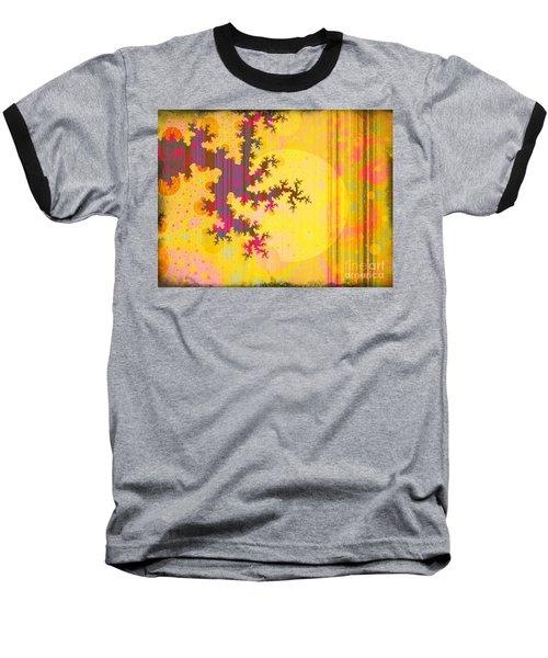 Oriental Moon Behind My Courtain Baseball T-Shirt