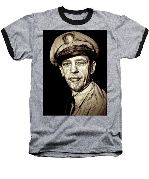 Original Barney Fife Baseball T-Shirt