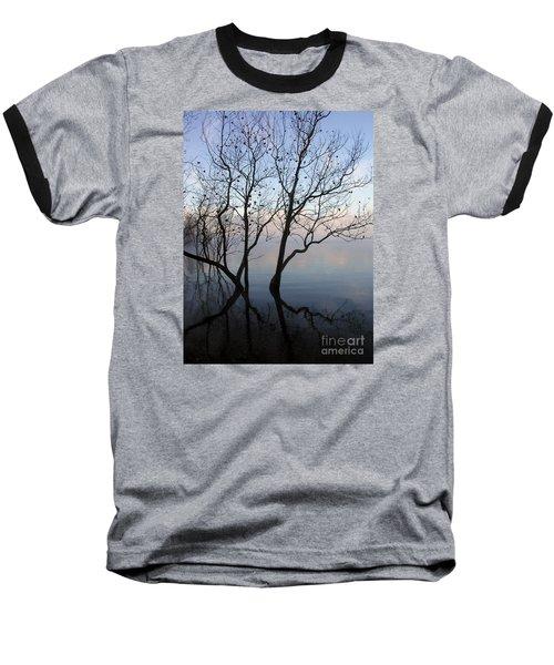 Baseball T-Shirt featuring the photograph Original Dancing Tree by Paula Guttilla