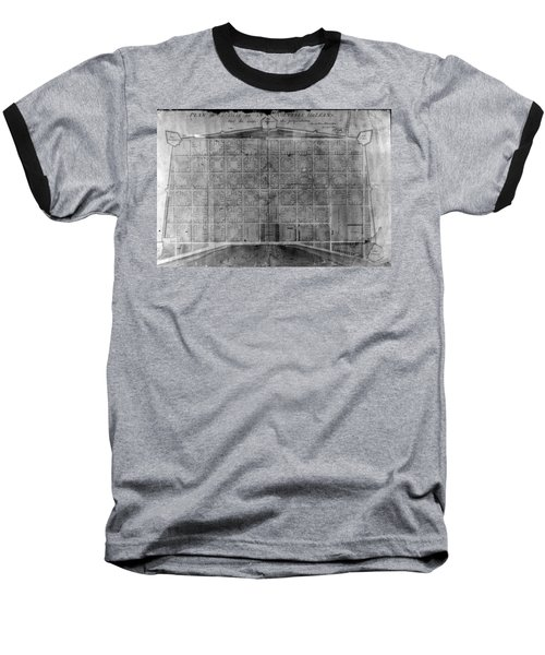 Original French Quarter Map Baseball T-Shirt