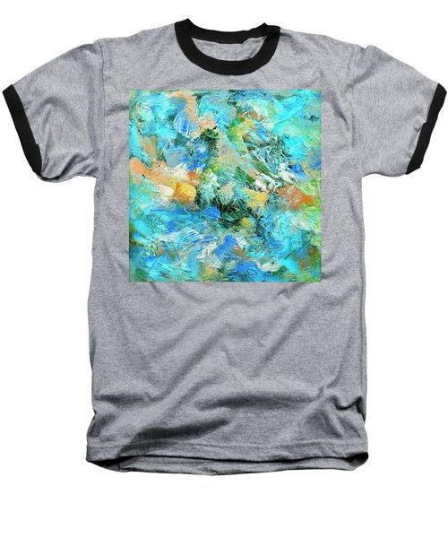 Baseball T-Shirt featuring the painting Orinoco by Dominic Piperata