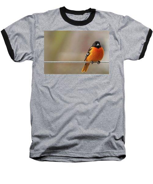 Oriole On The Line Baseball T-Shirt