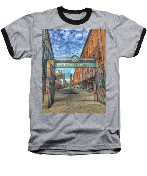 Oriole Park At Camden Yards - Eutaw Street Gate Baseball T-Shirt