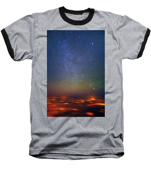 Orion Rising Baseball T-Shirt