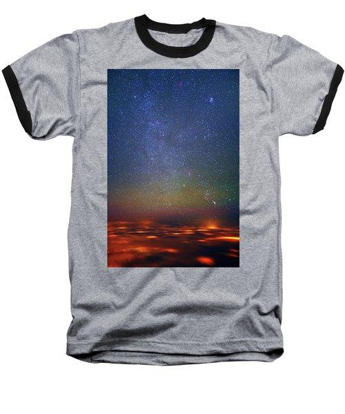 Orion Rising Baseball T-Shirt
