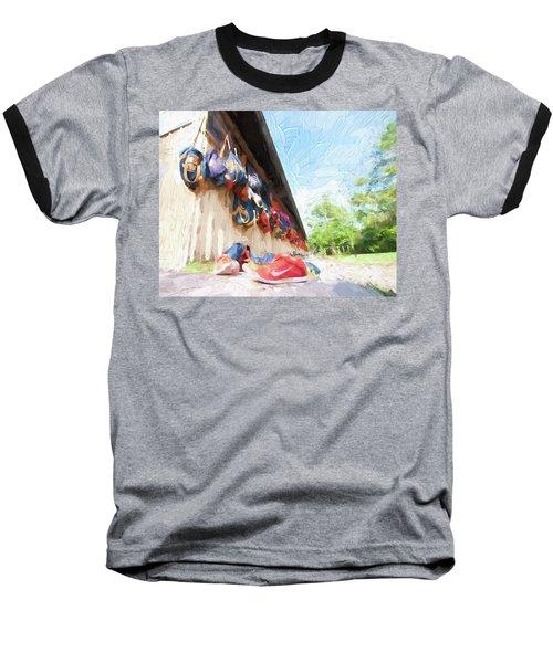 Orlando Area Rowing Society Baseball T-Shirt