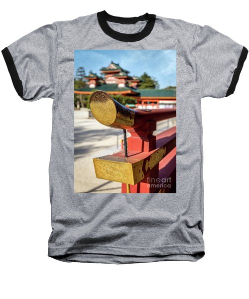 Ornate Details O Heian Jingu Shrine In Kyoto Baseball T-Shirt