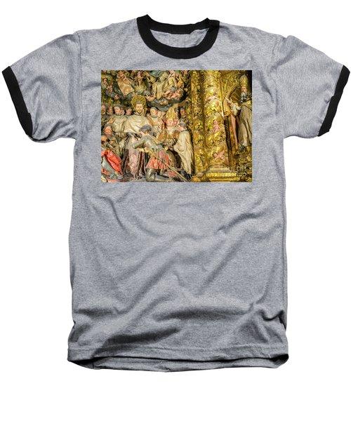 Ornate Gold Guilded Altar Baseball T-Shirt