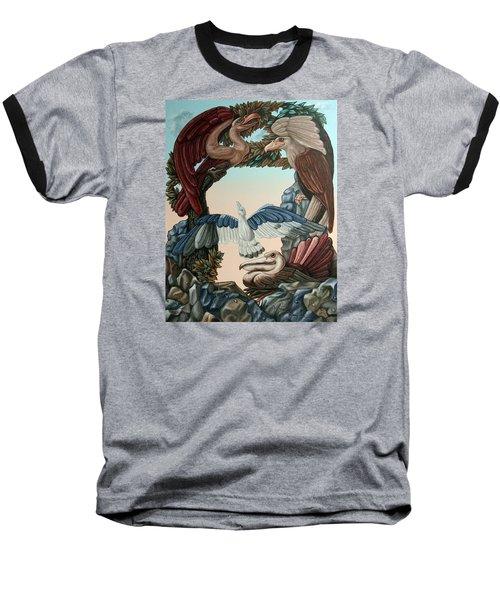 Ornithological Symphony By Ludwig Van Beethove Baseball T-Shirt