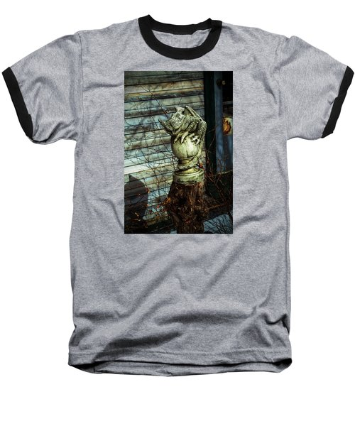 Oscar Baseball T-Shirt by Alana Thrower