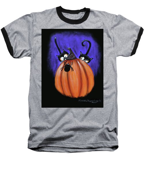 Oscar And Matilda - A Spider Oh Heck No Baseball T-Shirt