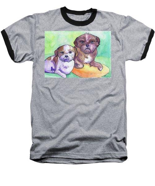 Oscar And Max Baseball T-Shirt