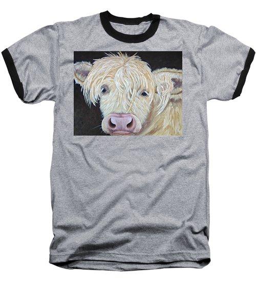 Oscar Baseball T-Shirt by T Fry-Green