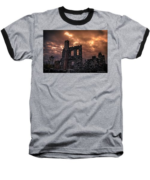 Baseball T-Shirt featuring the photograph Osler Castle by Michaela Preston