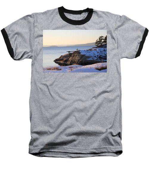 Oslo Fjords, Norway  Baseball T-Shirt