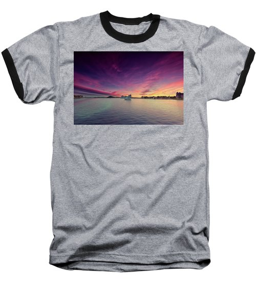 Oslo Harbor Baseball T-Shirt