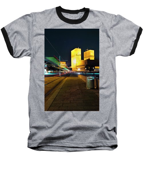 Oslo Town Hall Baseball T-Shirt