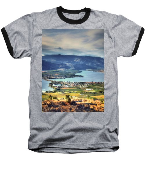Osoyoos Lake 2 Baseball T-Shirt