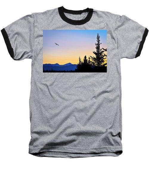 Osprey Against The Sunset Baseball T-Shirt