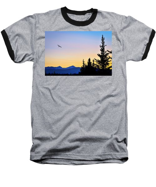 Osprey Against The Sunset Baseball T-Shirt