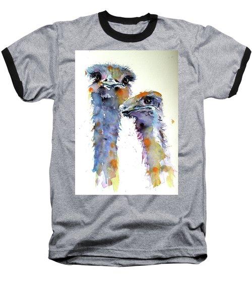 Ostriches Baseball T-Shirt
