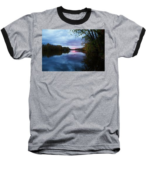 Oswego River Baseball T-Shirt by Everet Regal