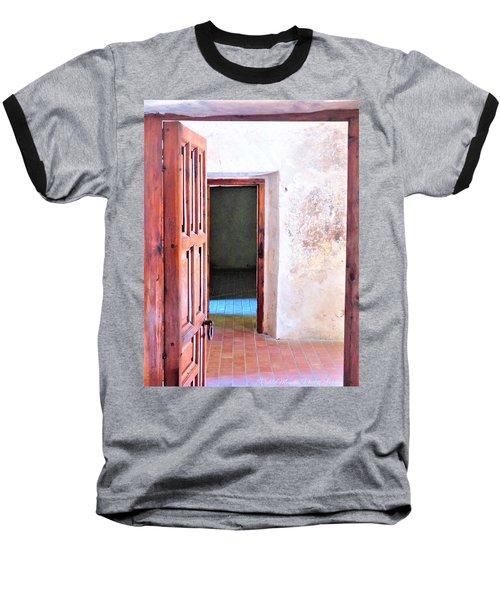Other Side Baseball T-Shirt by Pablo Munoz