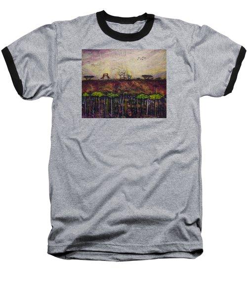 Other World 4 Baseball T-Shirt by Ron Richard Baviello