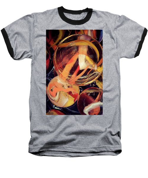 Other Worlds II Baseball T-Shirt by Shelly Stallings