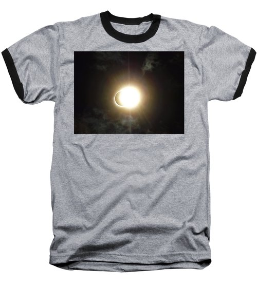 Otherworldly Eclipse-leaving Totality Baseball T-Shirt